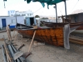 10 The hull is coated on the outside and the inside with shark liver oil