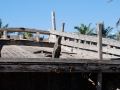 03 The aft deck. The stern is the only part that survived the tsunami in 2004